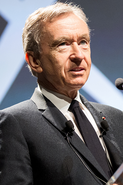 Bernard Arnault CEO Today Top 50