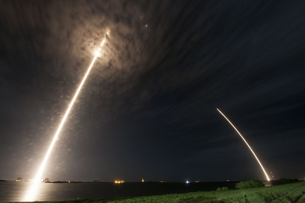 Elon Musk's SpaceX Launches Astronauts on Recycled Rocket