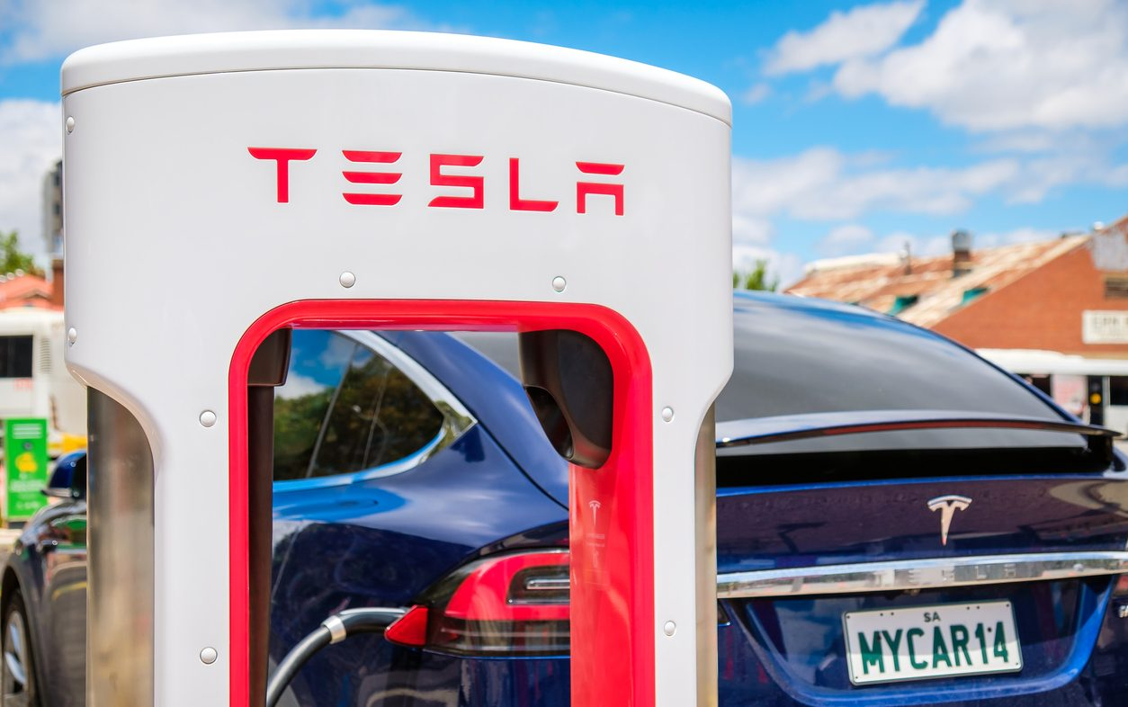 Tesla's Posts Record Quarterly Profit Boosted by Bitcoin Sales